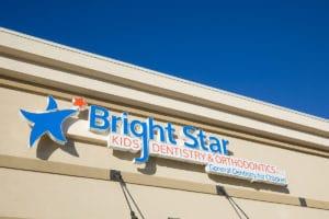 outdoor sign | Bright Star Kids Dentistry