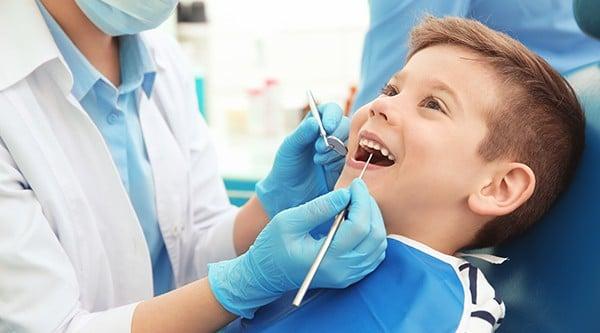Boy Getting Dental Work